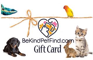 BeKind PetFind Gift Card